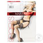 Чулки Marilyn женские Paris 03 M/L белые