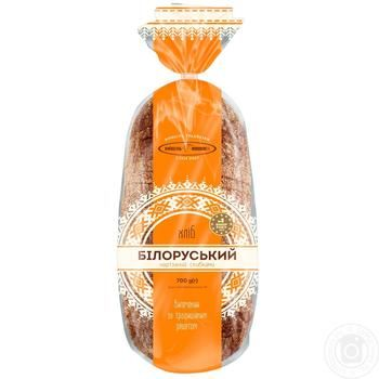 KyivHlib Belorussian Sliced Rye Bread 700g - buy, prices for Furshet - image 1
