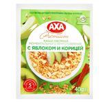 Каша вівсяна AXA яблуко-кориця 40г