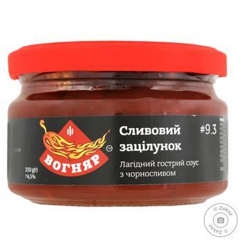 Sauce Vohniar plum 250ml glass jar - buy, prices for Novus - image 1
