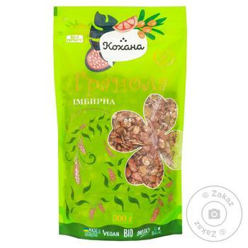 Granola Kohana ginger 300g - buy, prices for Furshet - image 1