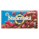 Шоколад Студенський з малиною, 180 г