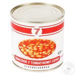 Квасоля Семерка у томатному соусі 420г