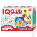 Пазли розвиваючі Ranok IQ-club вивчаємо форми