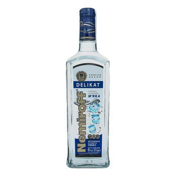 Nemiroff Delikat Soft Special Vodka 40% 0,7l - buy, prices for Auchan - image 1
