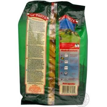 Макароны перья Ла паста 400г - купить, цены на Novus - фото 7