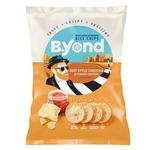 Чіпси B.Yond рисові зі смаком сиру Чеддер і томатів 70г