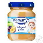 Puree Karapuz plum for children from 4 months 125g glass jar