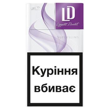 Сигареты LD Super Slims Violet