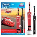 Зубна щітка Oral-B Family Edition Pro1&Kids Тачки