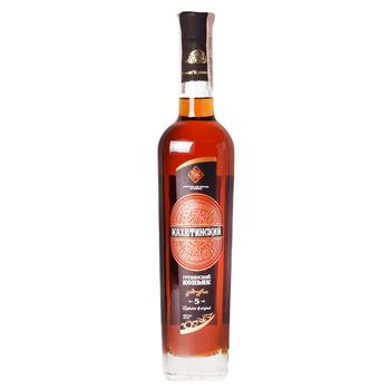 Kakhetinsky Cognac 5 yrs 40% 0,5l - buy, prices for Novus - image 1