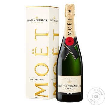 Moеt&Chandon Imperial White Brut Champagne 12% 0,75l - buy, prices for Novus - image 3