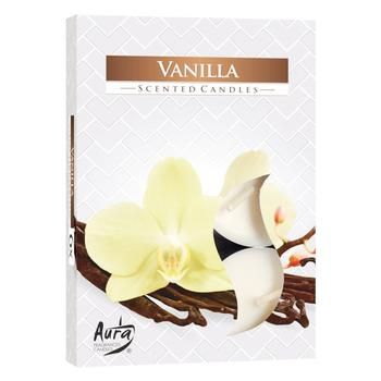 Bispol Vanilla Candle 6pcs
