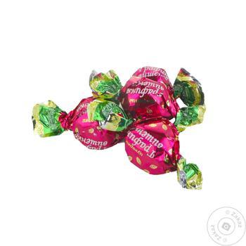 Конфеты ХБФ Бисквит-Шоколад Графиня Вишенка желейные глазированные весовые
