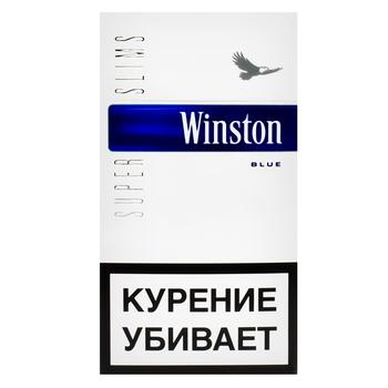 Сигареты Winston Blue Super Slims