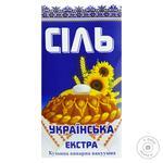 Соль Славянская Экстра кухонная поваренная 1кг