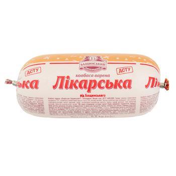 Колбаса Бащинский Докторская вареная в/с 500г