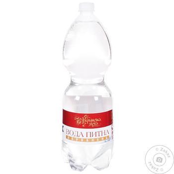 Вода минеральная Українська Зірка негазированная 1.5л