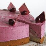 """Торт-десерт с йогуртовым кремом """"Ягодное облако"""""""