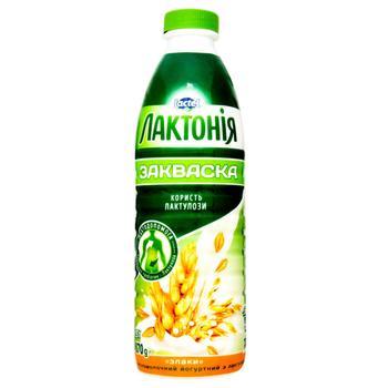 Напій кисломолочний Лактонія йогуртний закваска з лактулозою злаки 1.5% 870г - купити, ціни на CітіМаркет - фото 1