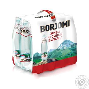 Вода Боржоми сильногазированная пластиковая бутылка 500мл Грузия - купить, цены на Novus - фото 2