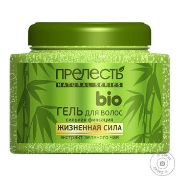 Гель для волос Прелесть Био зеленый чай 250мл