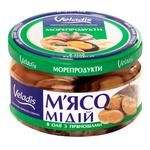 Мясо Мидий в масле с пряностями Veladis 200г