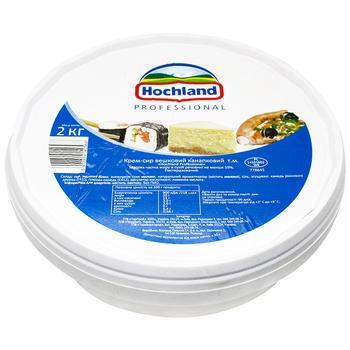 Крем-сыр Hochland Professional свежий сливочный канапковый 2кг