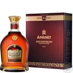 Коньяк Арарат Васпуракан 15 років 40% 0,7л в подарунковiй упаковцi