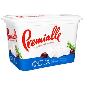 Premialle Feta Cheese 45% 500g - buy, prices for Furshet - image 3