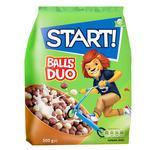 Сухие завтраки Start! Шарики Duo зерновые 500г