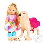 Simba Evi Love Dog Sitter Doll Set