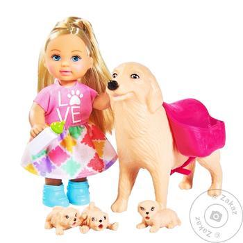 Кукольный набор Simba Evi Love Няня для щенков