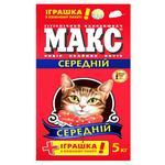 Наповнювач Макс Лаванда гігієнічний середній для котів 5кг