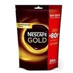 Кава Nescafe Gold розчинна 360г