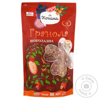 Гранола Кохана Шоколадная 300г - купить, цены на МегаМаркет - фото 1