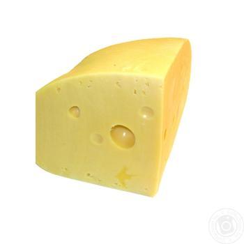 Сыр Радомер твёрдый 45% - купить, цены на Ашан - фото 1