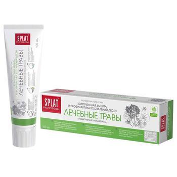 Зубная паста Splat Professional Medical Herbs защита от бактерий и кариеса 100мл - купить, цены на СитиМаркет - фото 1