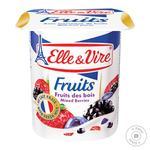 Десерт молочный Elle&Vire лесные ягоды 1,6% 125г
