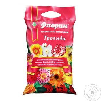 Грунт Флорін троянда 3л