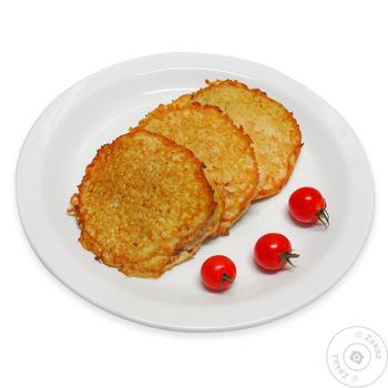 Деруни картопляні з м`ясом - купити, ціни на МегаМаркет - фото 1