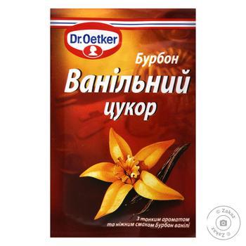 Dr.oetker for baking vanilla sugar 8g - buy, prices for MegaMarket - image 1