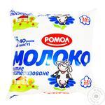 Молоко Ромол 2.5% 425г пастеризоване ф/п