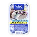 Казацкая Сельдь в масле филе-кусочки Veladis 500г