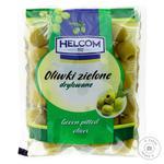 Оливки зеленые Helcom без косточки 195г