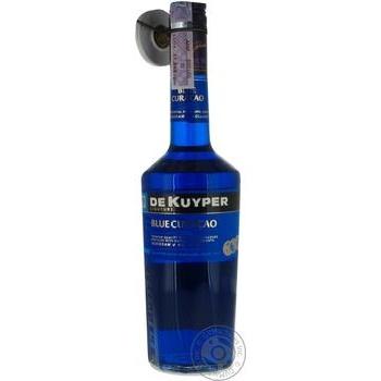 Лікер De Kuyper Blue Curacao 24% 0,7л