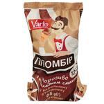 Морозиво Varto Пломбір шоколадне у вафельному стаканчику 12% 65г