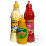 Набор Derbi Праздничный кетчуп+майонез+горчица эконом шт