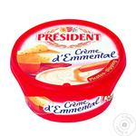 Сыр плавленый President Эмменталь 55% 125г