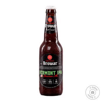 Пиво світле Волинський Бровар OATMEAL IPA 5,7% 0,35л с/пл